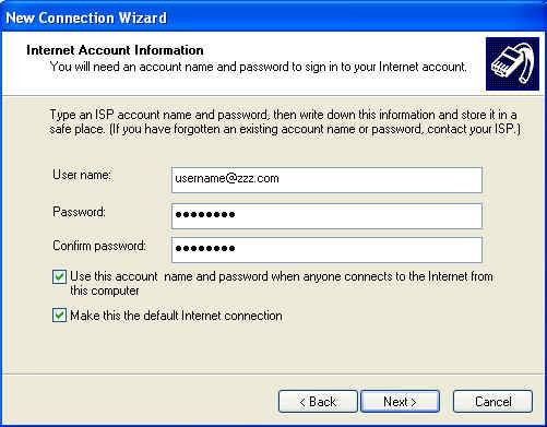 XP Dial Up 11