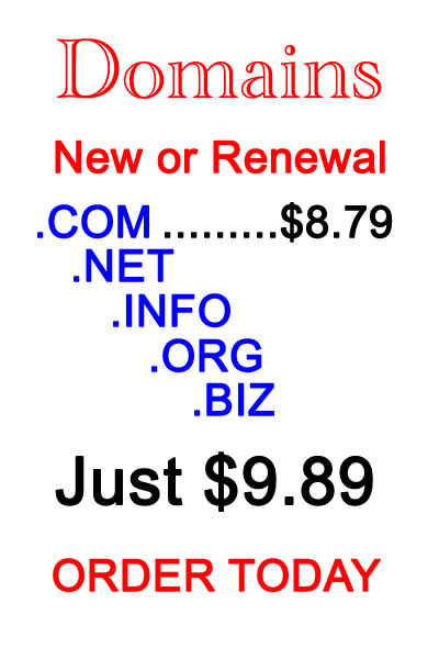Domain Prices